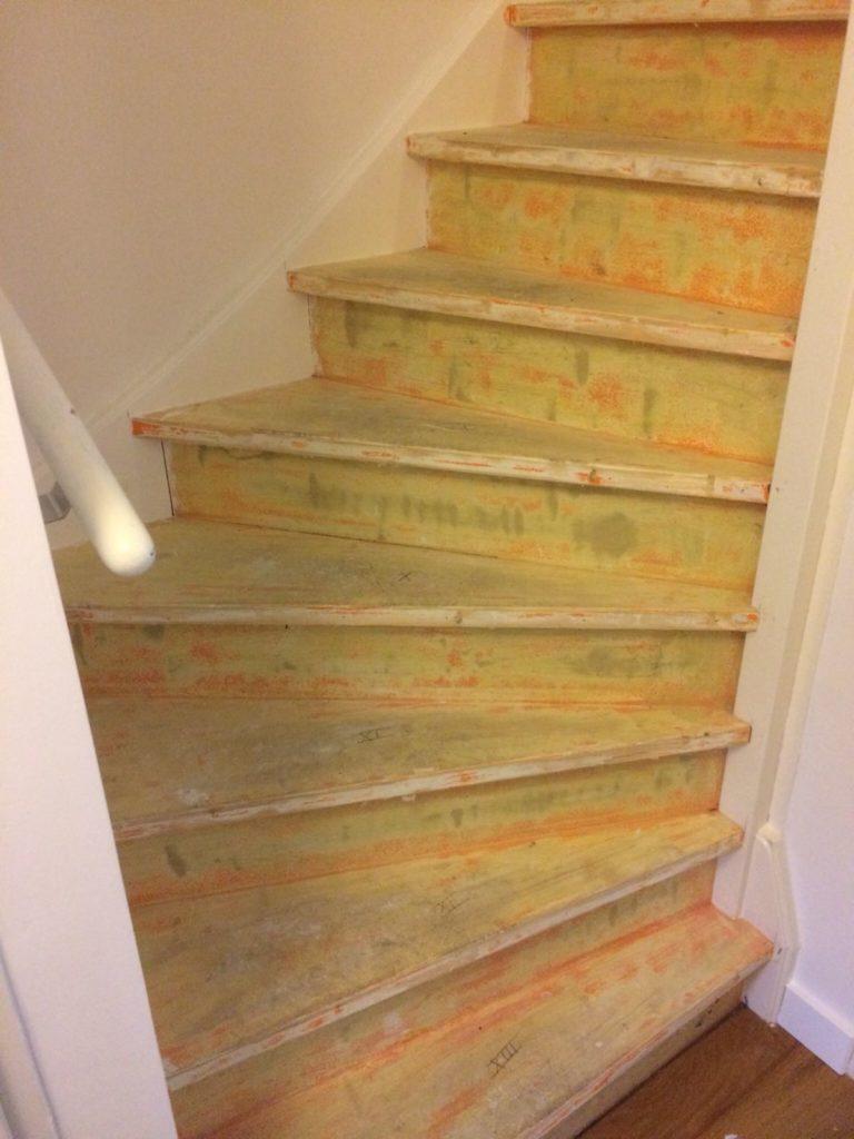 houten trap renovatie