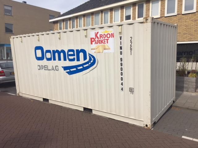 oomen verhuis container